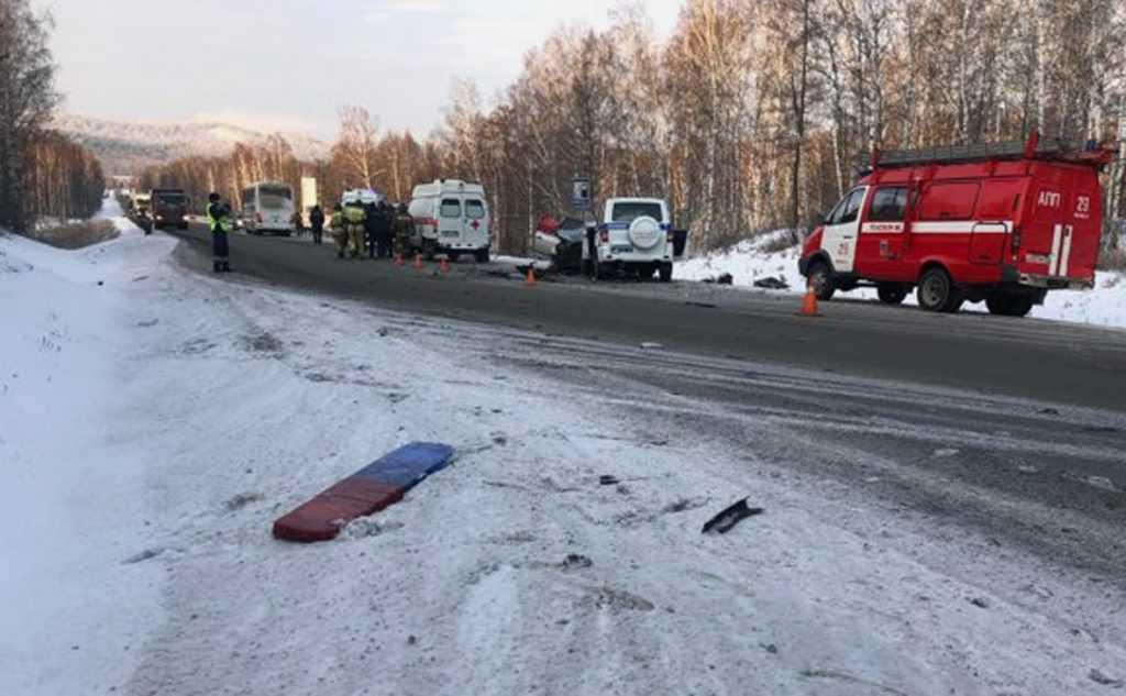 Сегодня трое детей пострадали в аварии в Башкирии