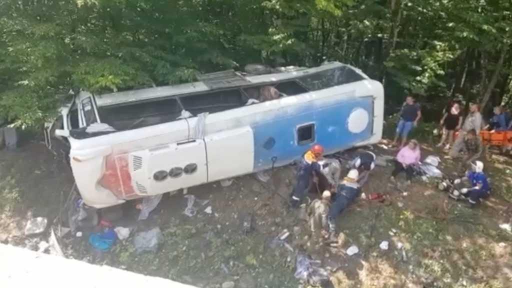 Страшная авария произошла на Кубани