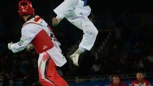 Тхэквондист из России Ларин получил олимпийское золото в весе свыше 80 кг