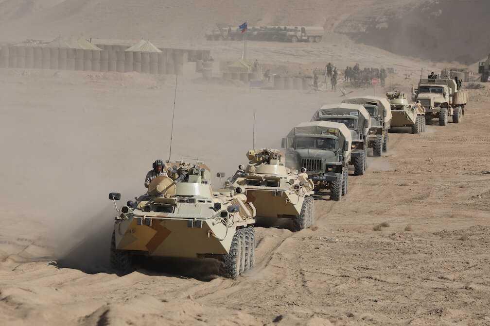 Россия перебросит свои войска для учений у узбекско-афганской границы