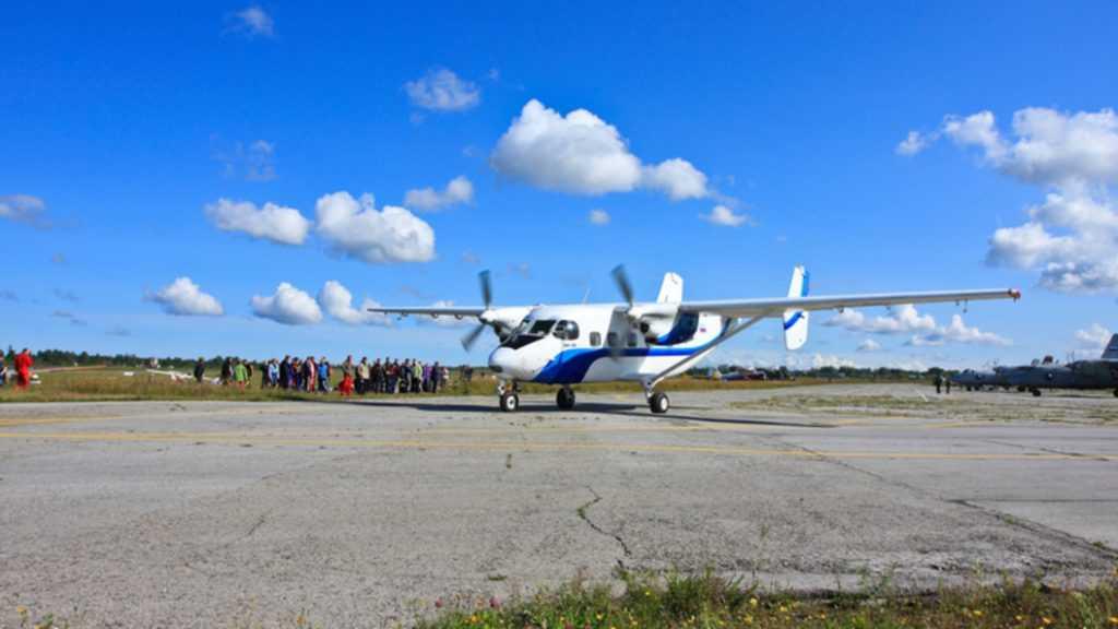 Пропавший в Томске самолет найден