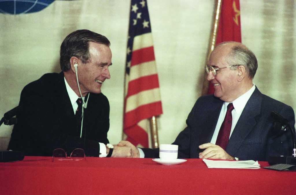 Горбачёв высказался, про переговоры по стратстабильности