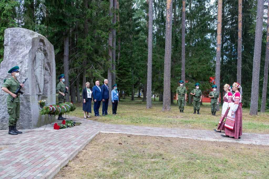 Сегодня почтили память о партизанах Великой Отечественной войны