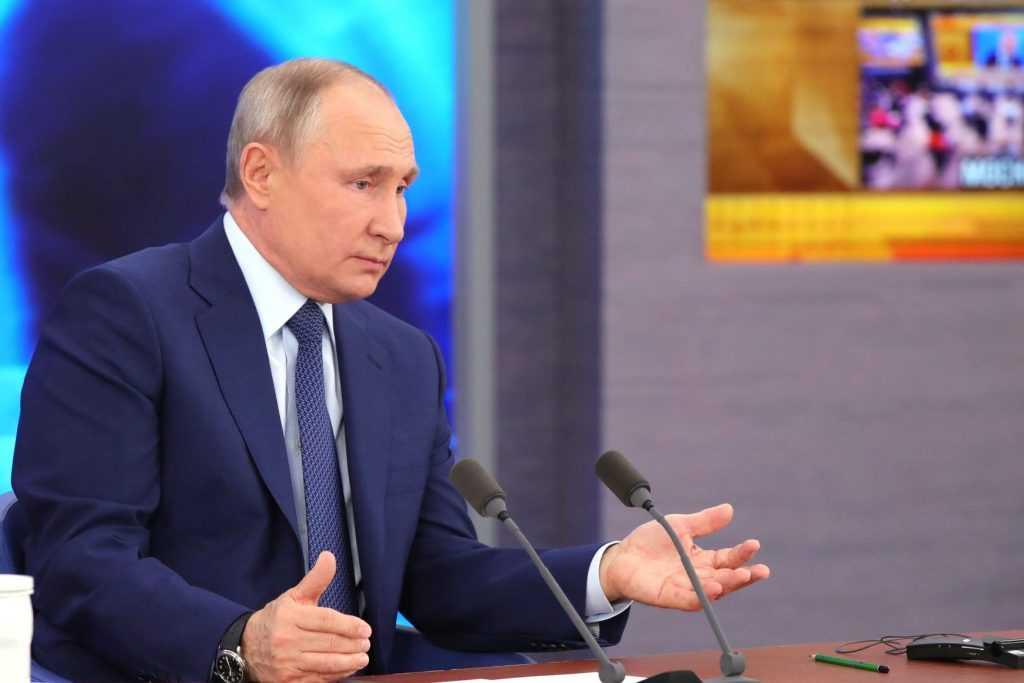 Пресс-служба Путина сообщила, что скоро появится статья президента об Украине
