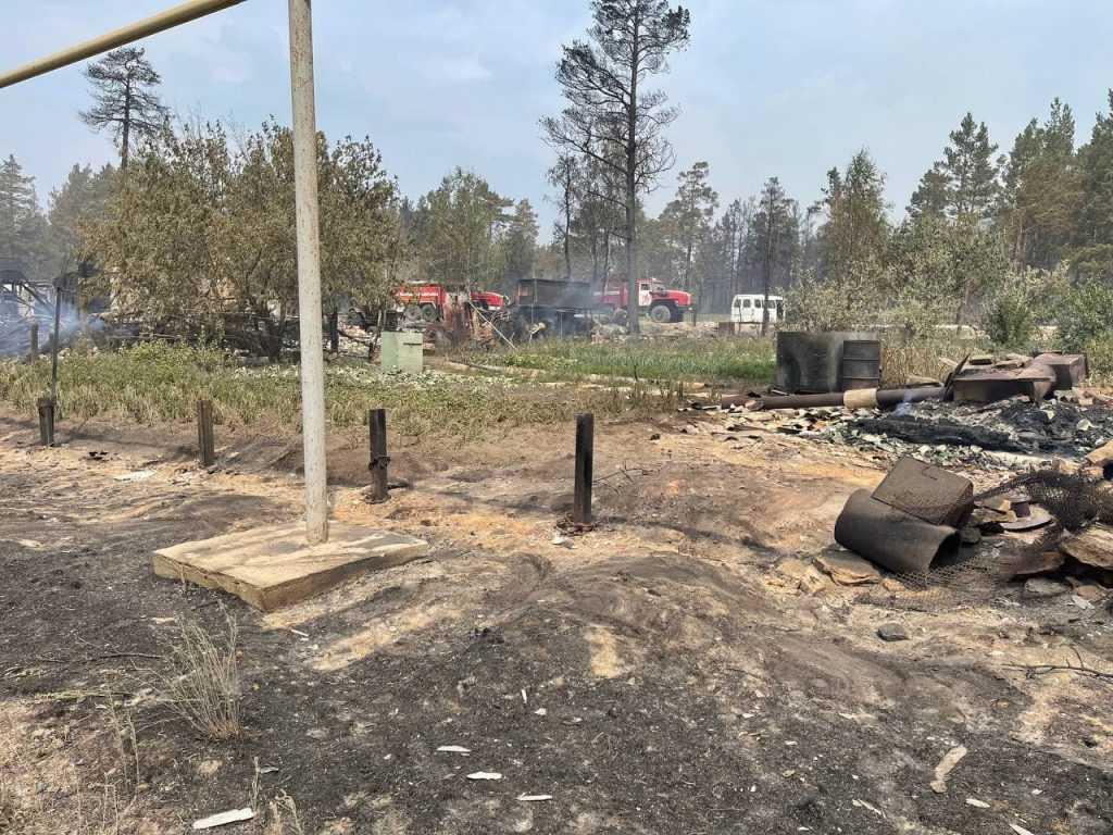 По 10 000 рублей получат пострадавшие от пожара в Челябинской области