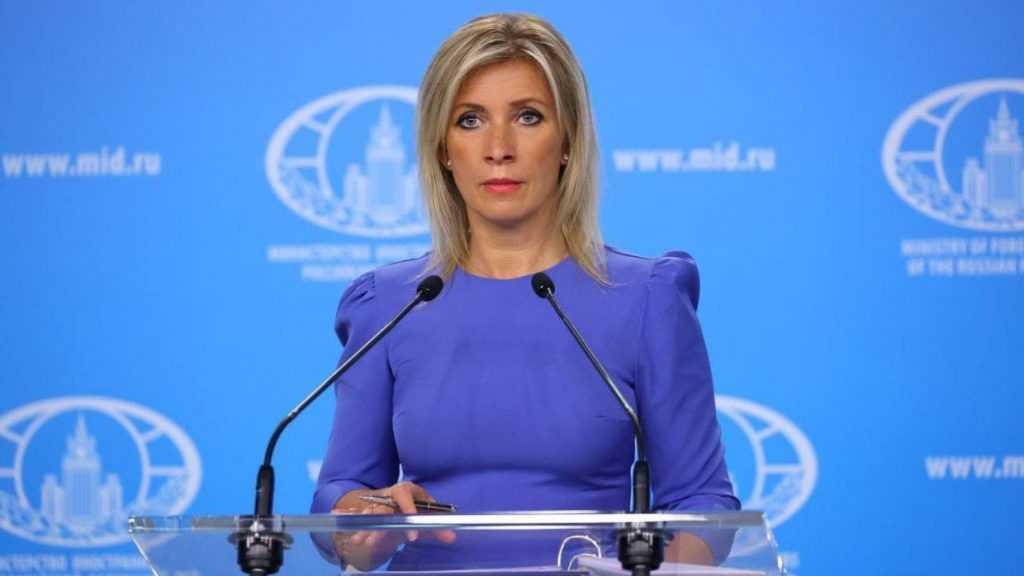 Захарова прокомментировала слова госсекретаря МИДа Франции о вакцине