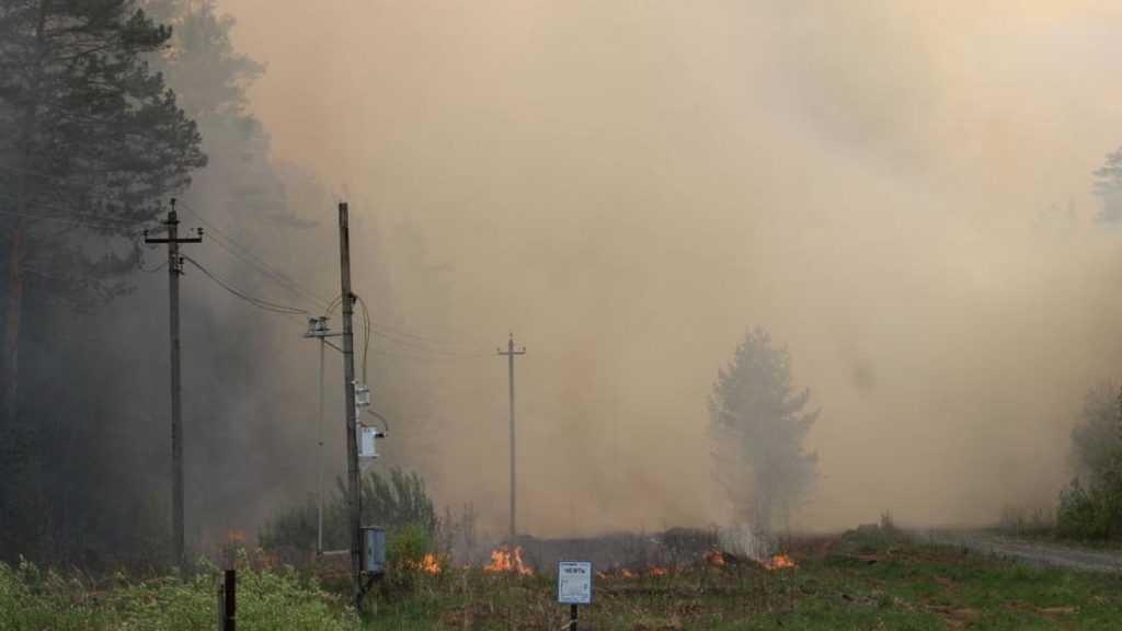 В Якутске задержали рейсы из-за задымления от природных пожаров