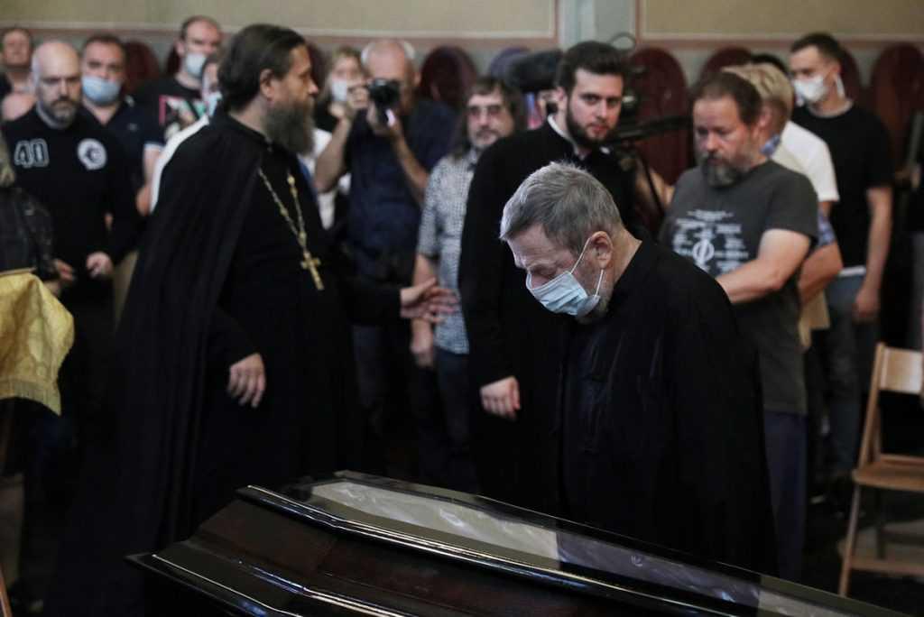 Сегодня прошли похороны Мамонова
