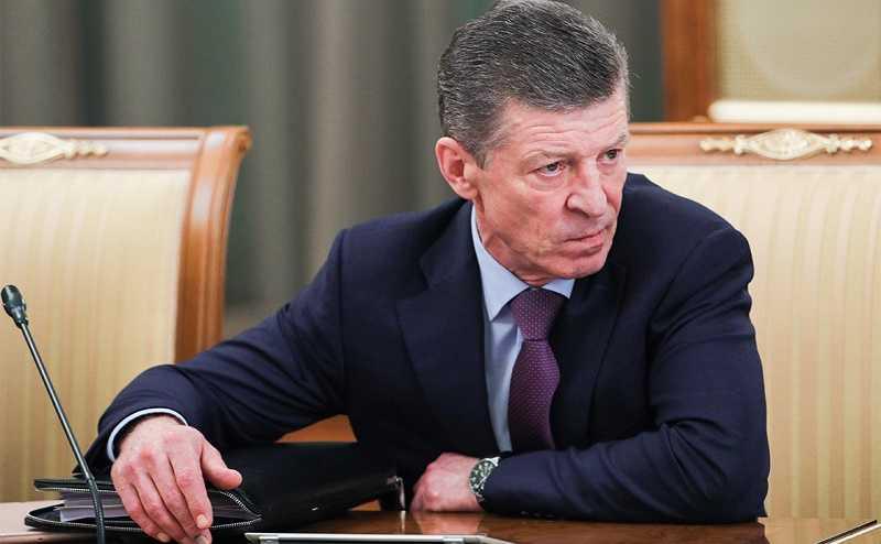 Козак объяснил, в каком случае Россия вмешается в конфликт на Донбассе