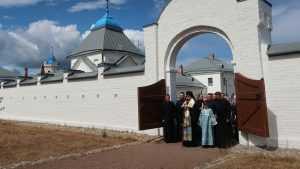 Владимир Путин сделал визит в Коневский монастырь на Ладожском острове