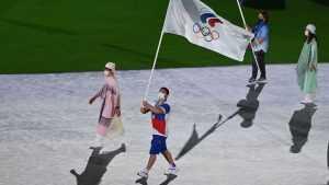 Началась церемония закрытия Олимпийских игр 2020 в Японии
