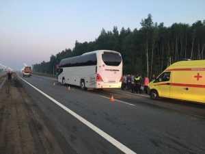 Во Владимирской области произошла авария