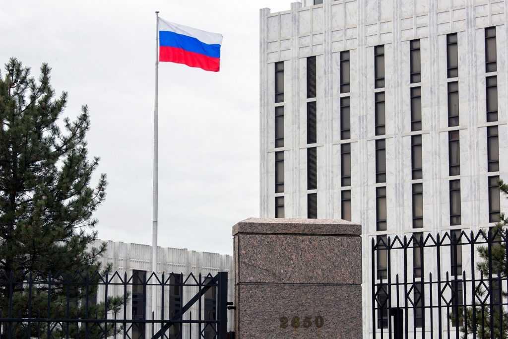 Из США уедут 24 российских дипломата