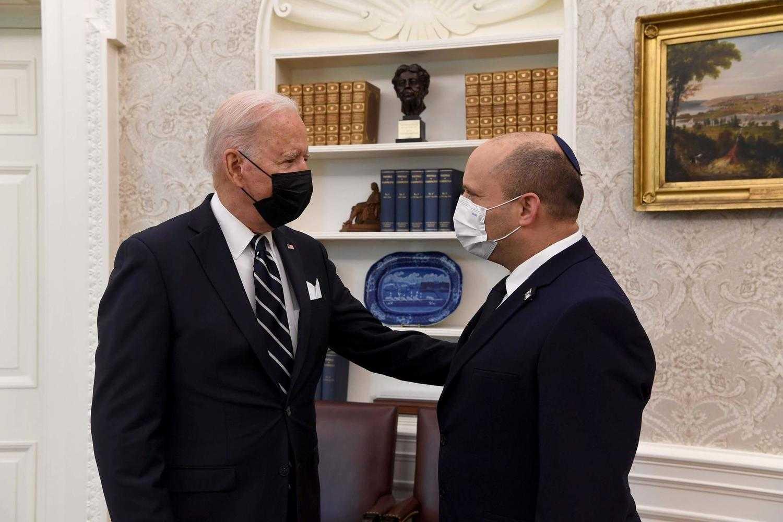 Президент США Байден уснул во время пресс-конференции с израильским премьер-министром