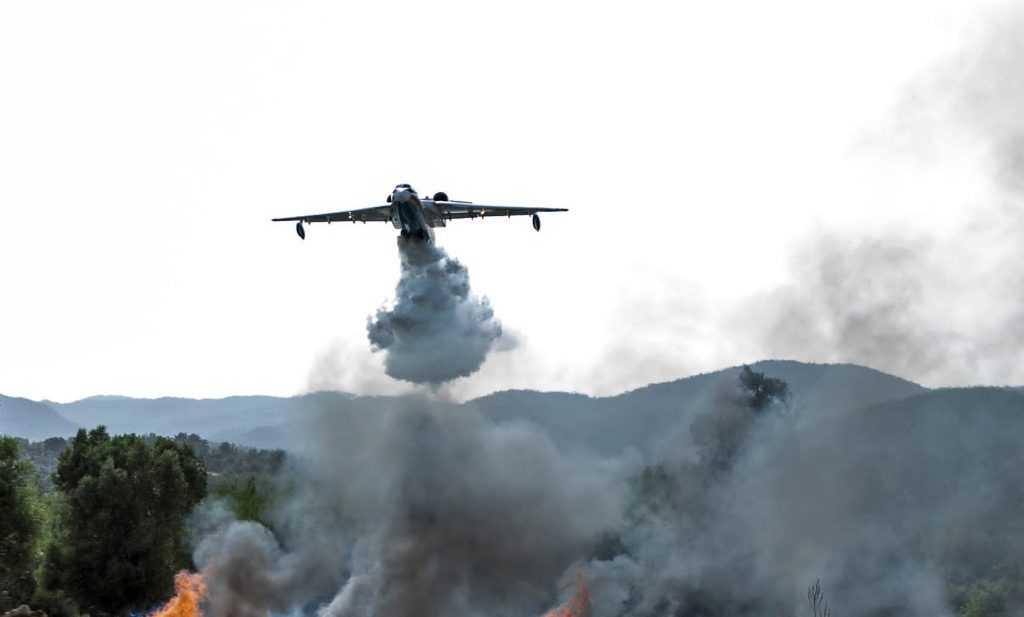 Министерство обороны России рассказало детали крушения самолёта Бе-200