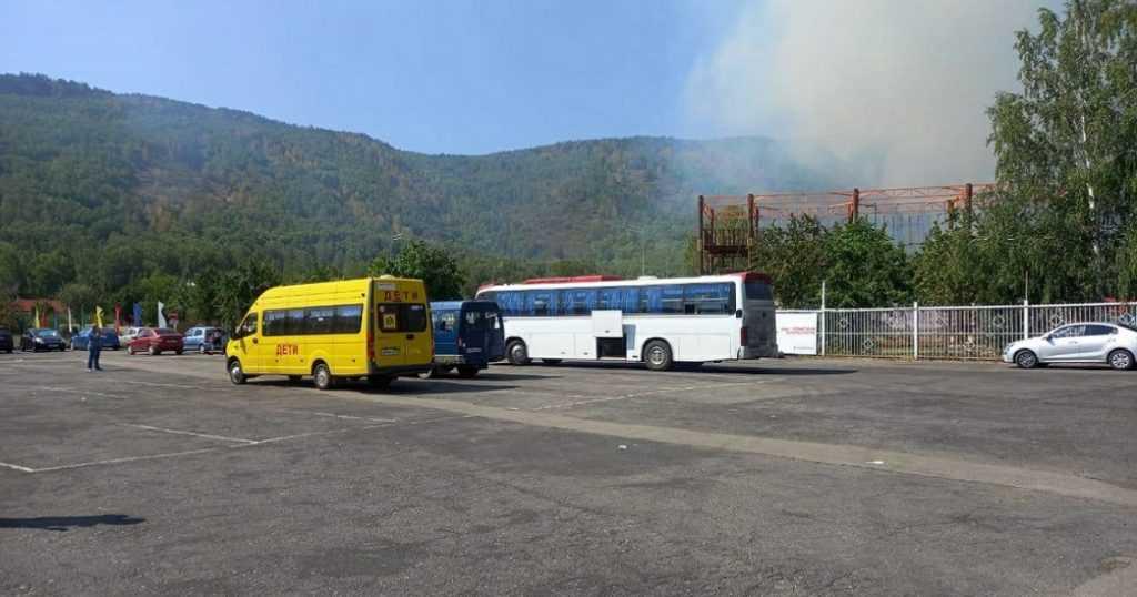 В Башкирии пришлось эвакуировать более 800 человек из лагеря