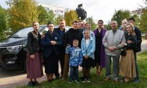 Владимир Владимирович встретился с семьёй, которую пригласил на отдых в Сочи