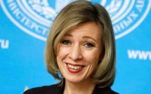 Захарова прокомментировала угрозу Украины о «камнях с неба»
