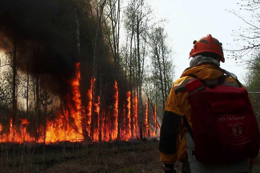 Ситуация с пожарами в Якутии