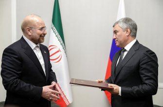 Россия и Иран хотят вывести отношения на новый уровень