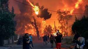 Посольство рекомендовало россиянам воздержаться от поездок по Греции из-за пожаров