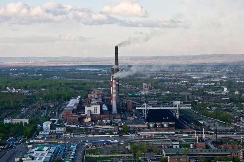 Красноярск в очередной раз признан самым грязным городом в мире