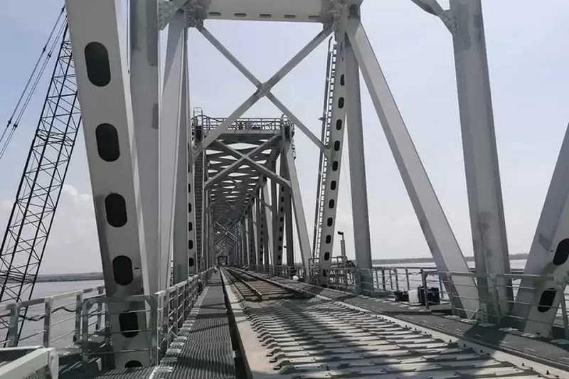 Прокладка железной дороги между Россией и Китаем закончена