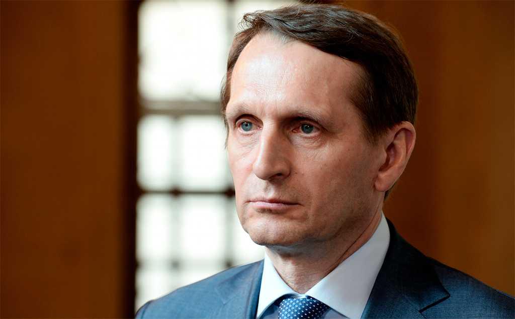Глава Службы внешней разведки рассказал про подготовку высказываний Джо Байдена