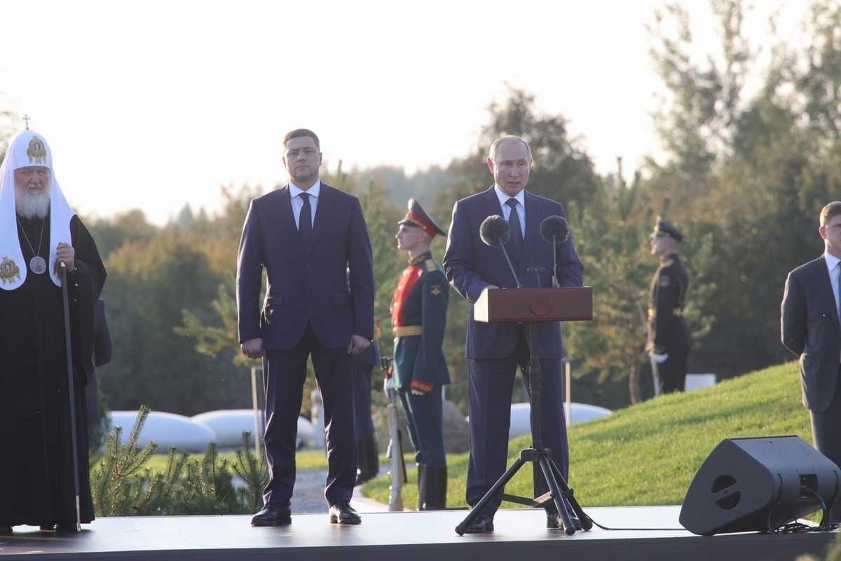 Владимир Путин примет участие в открытии мемориала на Чудском озере