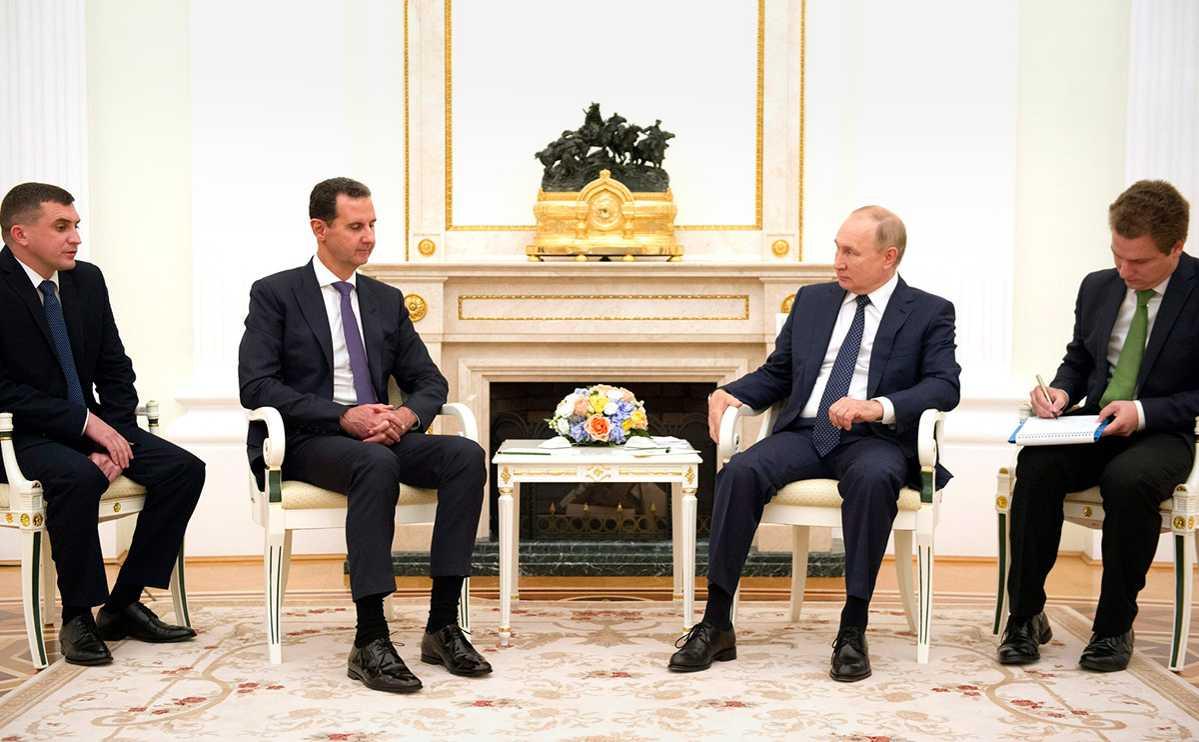 Политолог предположил, зачем Асад приезжал к Путину