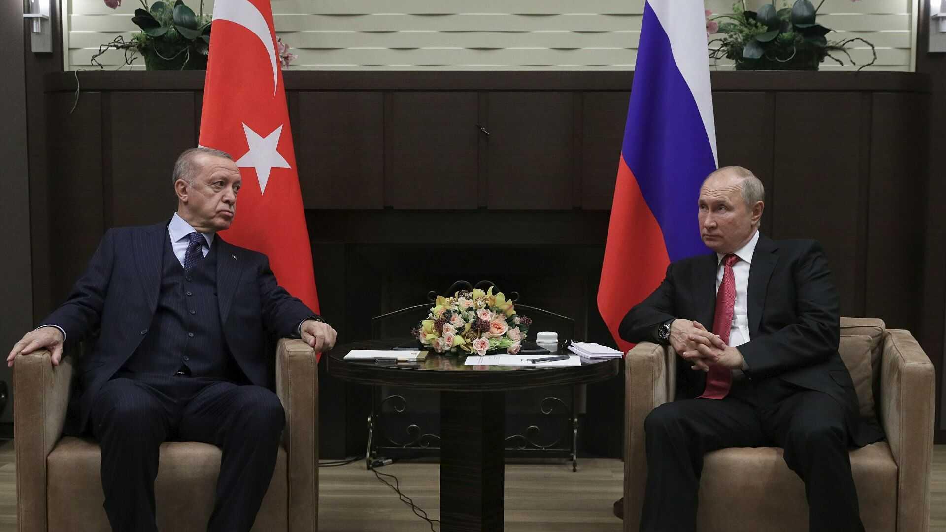 Путин дал оценку рабочей встрече с турецким президентом Эрдоганом