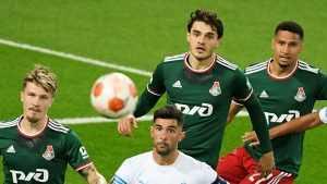 Московский «Локомотив» сыграл вничью с «Марселем» в Лиге Европы