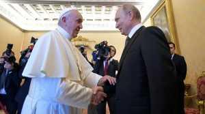 Папа Римский по ошибке процитировал Путина