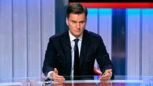 Польского политолога ударили на российском телевидении за слова о Донбассе