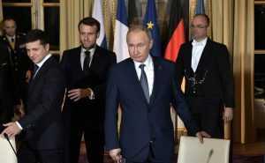 Москва не получала официального предложения провести встречу Путина и Зеленского