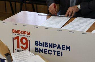 Названы регионы с самой высокой явкой в первый день выборов