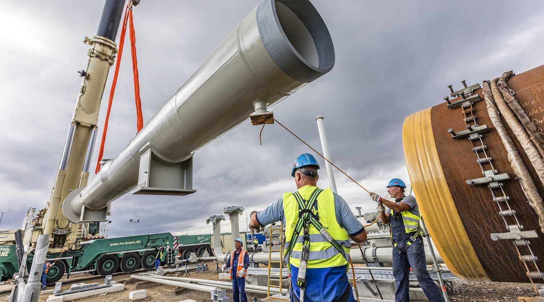 Песков о требовании США качать газ через Украину: «Пропаганда со знаком минус»
