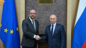 Появились подробности разговора Путина и главы Евросовета