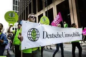 Активисты в Германии выступают с призывом запрета «Северного потока – 2»