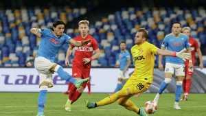 Московский «Спартак» обыграл итальянский «Наполи» в матче Лиги Европы