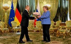 Американские СМИ: «прощальный подарок» Путина Меркель – сигнал для Байдена