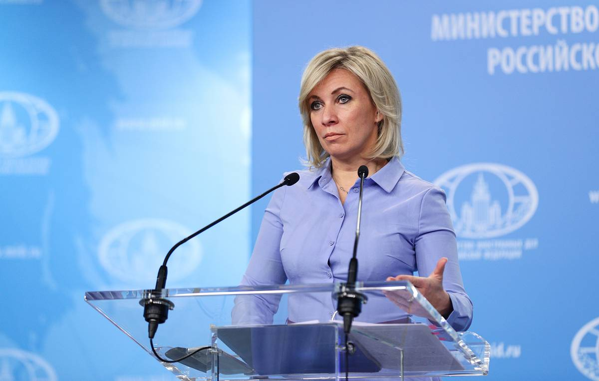Захарова отреагировала на слова о «русском следе» в покушении на помощника Зеленского