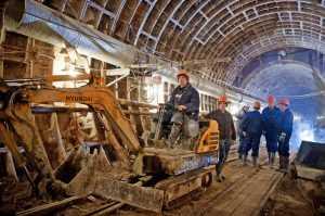 Большая кольцевая линия метро готова на 88%