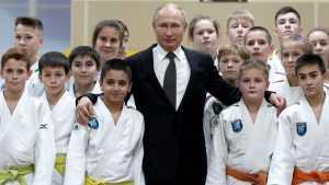 Путин о том, как ему сломали нос