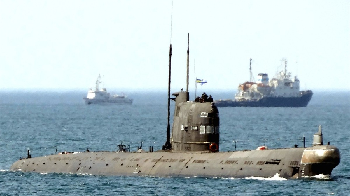 Украинские моряки испугались учебной атаки российских подлодок