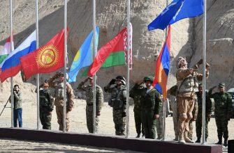 Учения ОДКБ: началась активная фаса на афганской границе
