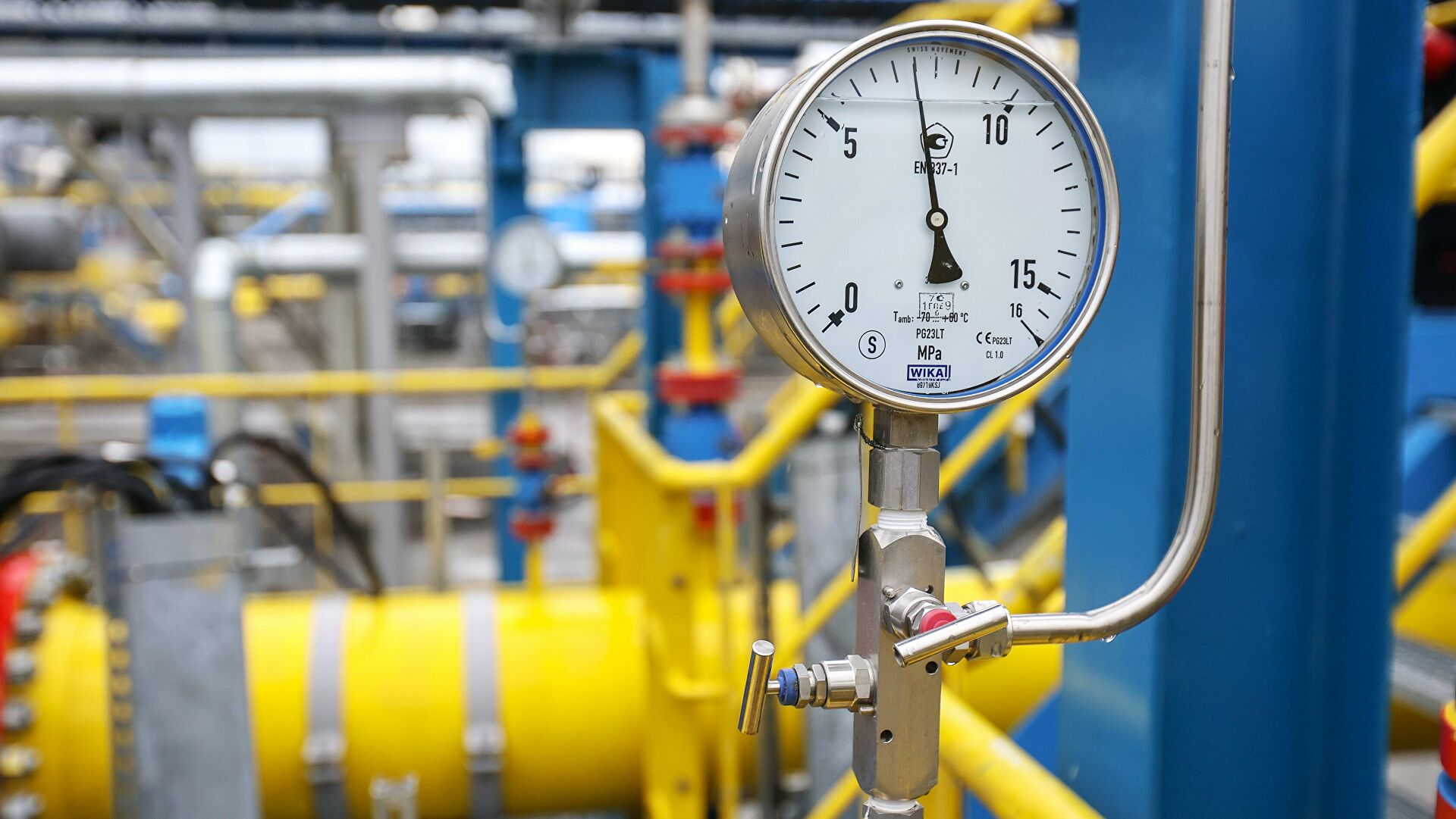 Путин рассказал, почему в Европе «истерика» из-за газа