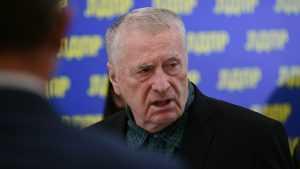 Жириновский призвал «заменить» президента России