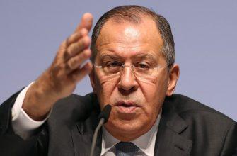 Лавров заявил, что возможная встреча глав России и Украины является фантазией Зеленского