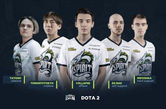 Отечественная киберспортивная команда Team Spirit выиграла турнир The International 10